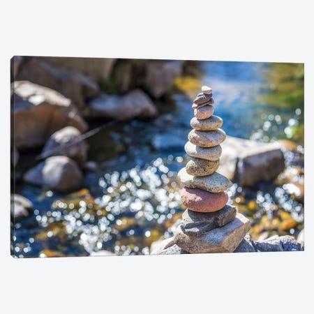 Zen Stones Canvas Print #JGL208} by Joseph S. Giacalone Art Print