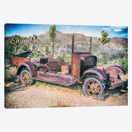Flat Tire Vintage Canvas Print #JGL211} by Joseph S. Giacalone Canvas Artwork