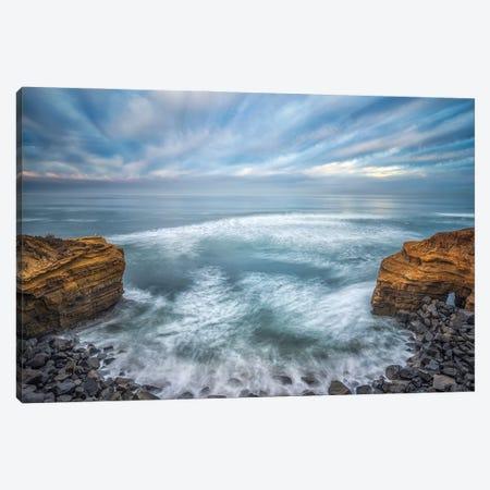 Energy Of Sky and Sea Canvas Print #JGL214} by Joseph S. Giacalone Canvas Art Print
