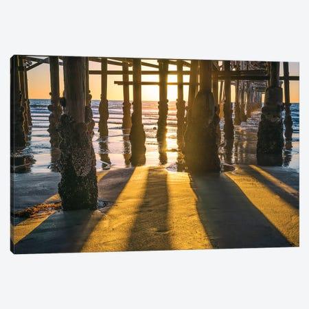 Crystal Pier Light And Shadow Canvas Print #JGL234} by Joseph S. Giacalone Canvas Art Print