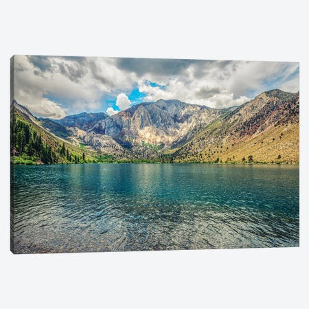 All The Hues Of Convict Lake Canvas Print #JGL258} by Joseph S. Giacalone Canvas Artwork