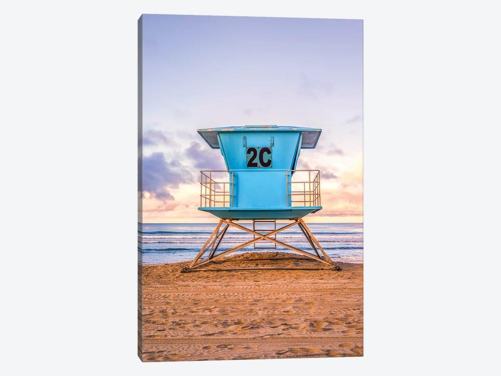 2C At Coronado Central Beach by Joseph S. Giacalone 1-piece Canvas Art