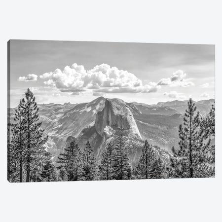 Cloud'S Rest On Half Dome Canvas Print #JGL36} by Joseph S. Giacalone Canvas Print