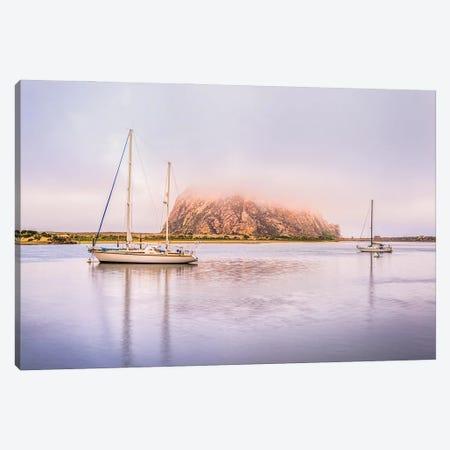 Morro Rock, Morro Bay Canvas Print #JGL43} by Joseph S. Giacalone Canvas Print