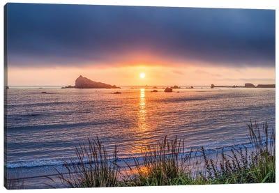A Crescent City Sunset Canvas Art Print