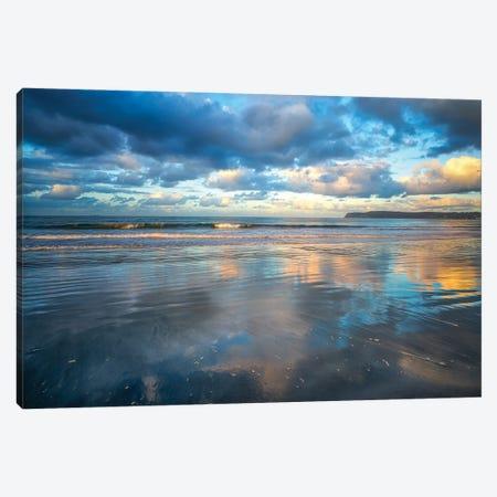 Reflections On Sand Canvas Print #JGL60} by Joseph S. Giacalone Canvas Print