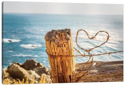 Love On The Coast II Canvas Art Print