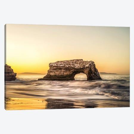 Santa Cruz Sunrise Canvas Print #JGL75} by Joseph S. Giacalone Art Print