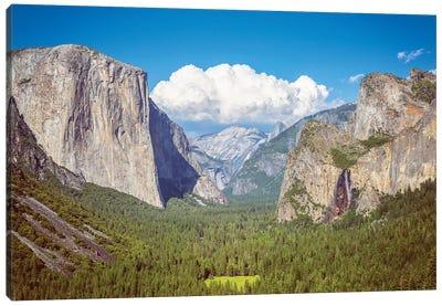 Yosemite Valley Magic Canvas Art Print