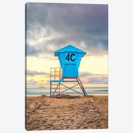 4C At Coronado Central Beach Canvas Print #JGL88} by Joseph S. Giacalone Art Print