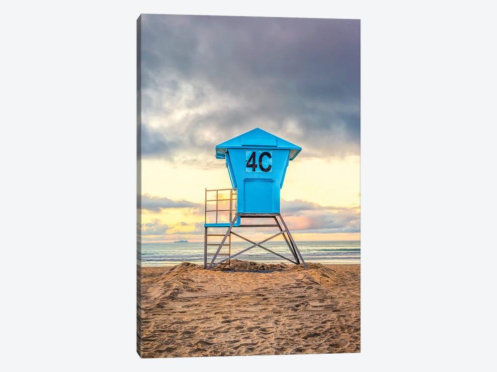 4C At Coronado Central Beach by Joseph S. Giacalone 1-piece Art Print
