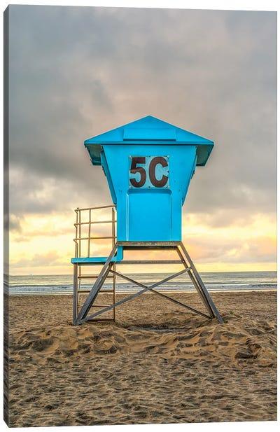 5C At Coronado Central Beach Canvas Art Print