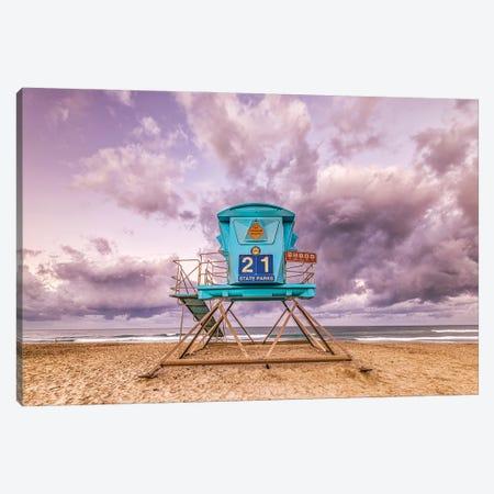 21 At Ponto Beach Canvas Print #JGL97} by Joseph S. Giacalone Canvas Print