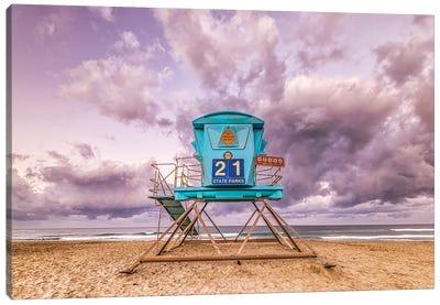 21 At Ponto Beach Canvas Art Print