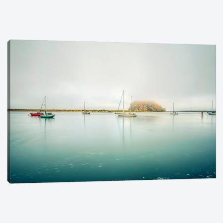 A Morro Bay Calm Canvas Print #JGL9} by Joseph S. Giacalone Canvas Art