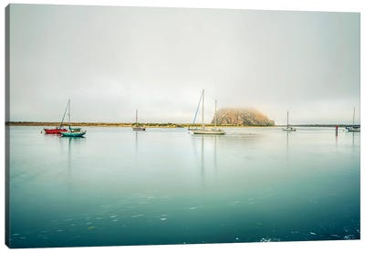 A Morro Bay Calm Canvas Art Print