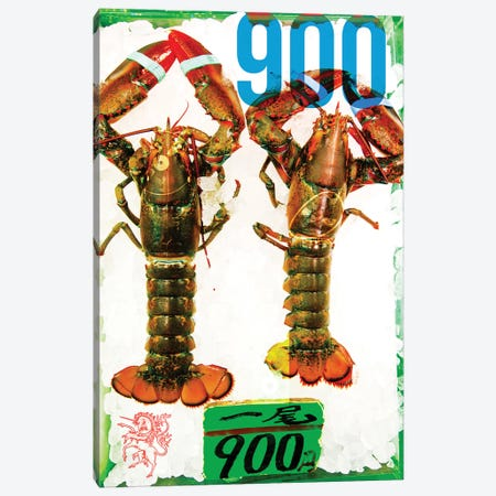 Japanse Lobsters Canvas Print #JGM42} by Jordi Gomez Canvas Artwork