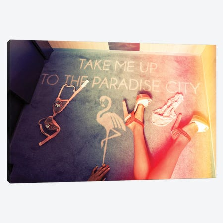 Take Me Up 3-Piece Canvas #JGM87} by Jordi Gomez Canvas Print