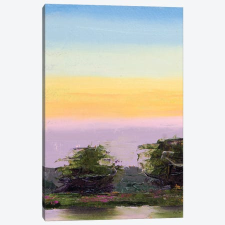 Glowing Sunset Canvas Print #JGN10} by Jenny Green Canvas Art