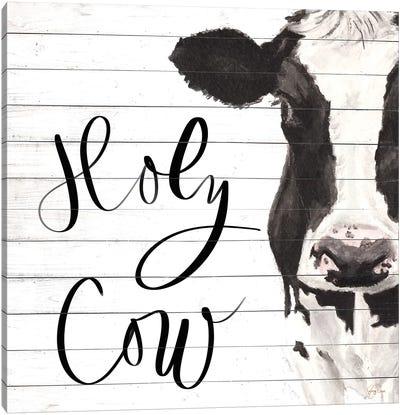 Holy Cow Canvas Art Print