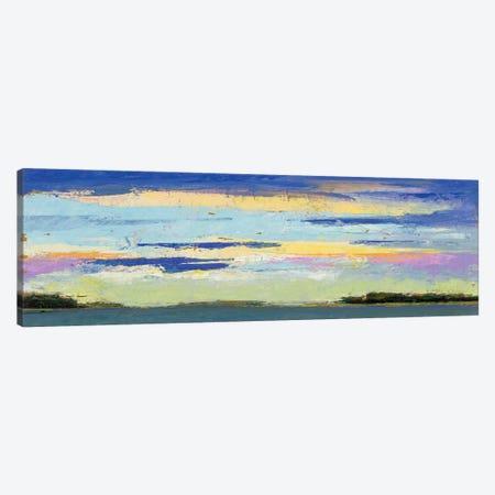 Island Sunsets Canvas Print #JGN13} by Jenny Green Canvas Wall Art