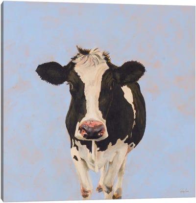 Onward Cow Canvas Art Print
