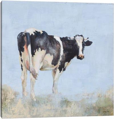 Posing Cow Canvas Art Print