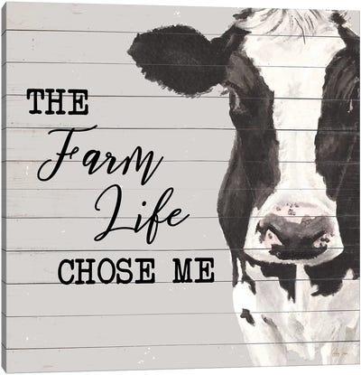 The Farm Life Canvas Art Print