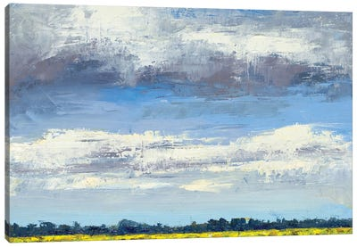 Cloud Coverage Canvas Art Print