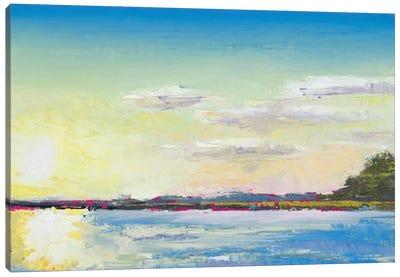 Sun on the Water Canvas Art Print