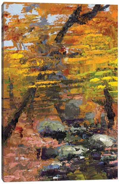 Autumn Woods Canvas Art Print