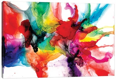 Jeweltone Prism II Canvas Art Print