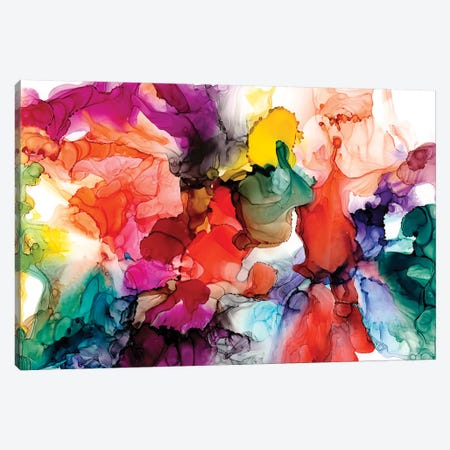 Jeweltone Prism III Canvas Print #JGO1006} by Jennifer Goldberger Canvas Art