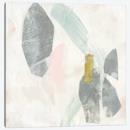 Muted Clusters I Canvas Print #JGO1015} by Jennifer Goldberger Canvas Art Print