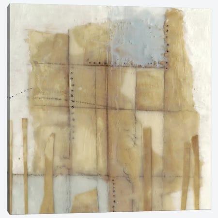 Paper Stitches II Canvas Print #JGO1018} by Jennifer Goldberger Canvas Artwork