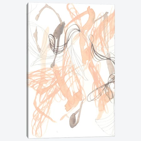 Petal Matrix II Canvas Print #JGO1020} by Jennifer Goldberger Art Print