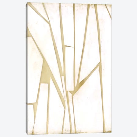 Antiqued Shards I Canvas Print #JGO1047} by Jennifer Goldberger Canvas Wall Art
