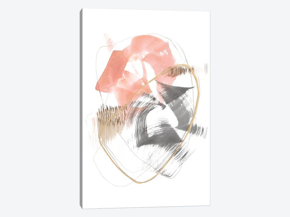 Blushing Circularity I by Jennifer Goldberger 1-piece Art Print