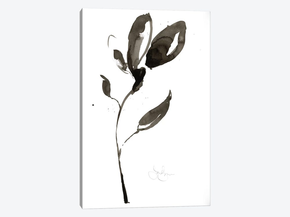 Solitary Sumi-e I by Jennifer Goldberger 1-piece Art Print