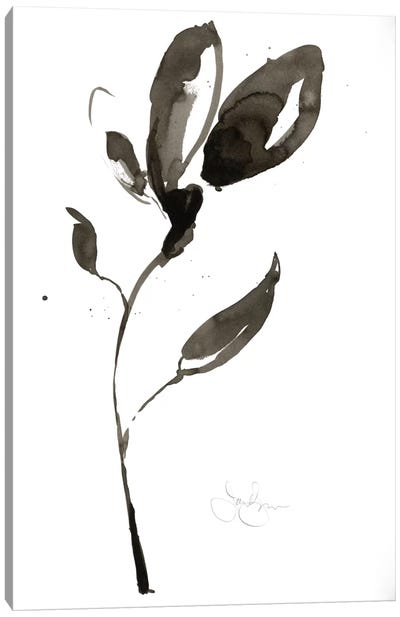Solitary Sumi-e I Canvas Art Print