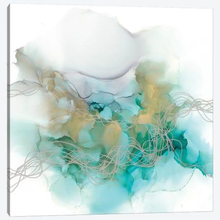 Interwoven Metallics I Canvas Print #JGO1070} by Jennifer Goldberger Canvas Art