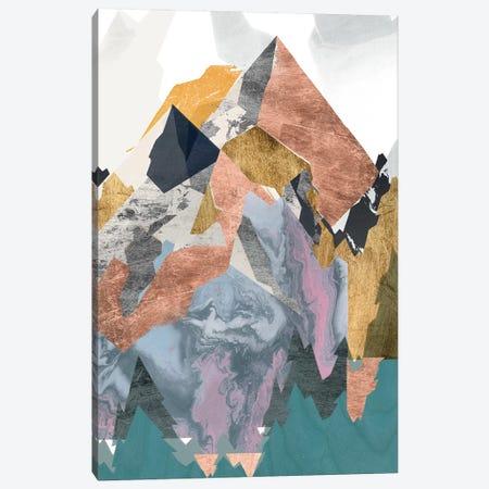 Metallic Range II Canvas Print #JGO1073} by Jennifer Goldberger Canvas Artwork