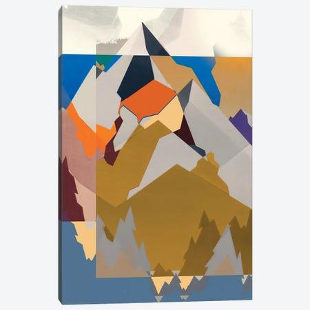 Mountain Extraction I Canvas Print #JGO1074} by Jennifer Goldberger Canvas Art Print