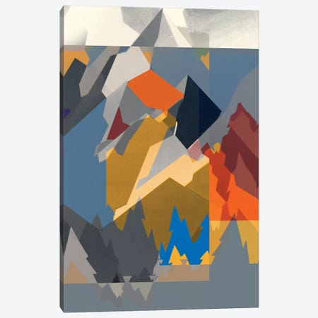 Mountain Extraction II Canvas Print #JGO1075} by Jennifer Goldberger Art Print