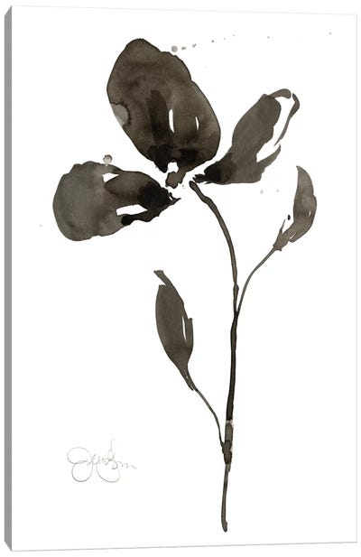 Solitary Sumi-e II Canvas Art Print