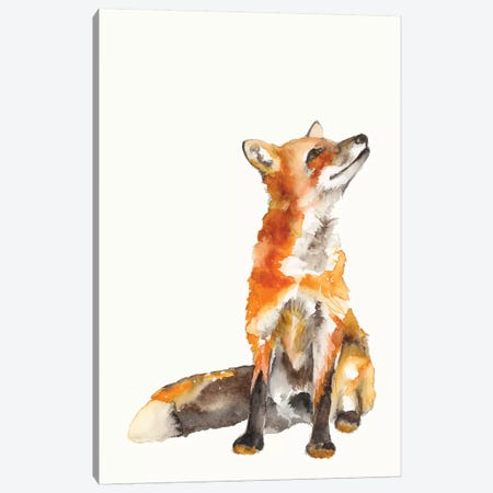Sly Fox I Canvas Print #JGO1086} by Jennifer Goldberger Canvas Wall Art