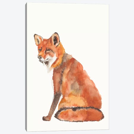 Sly Fox II Canvas Print #JGO1087} by Jennifer Goldberger Canvas Art
