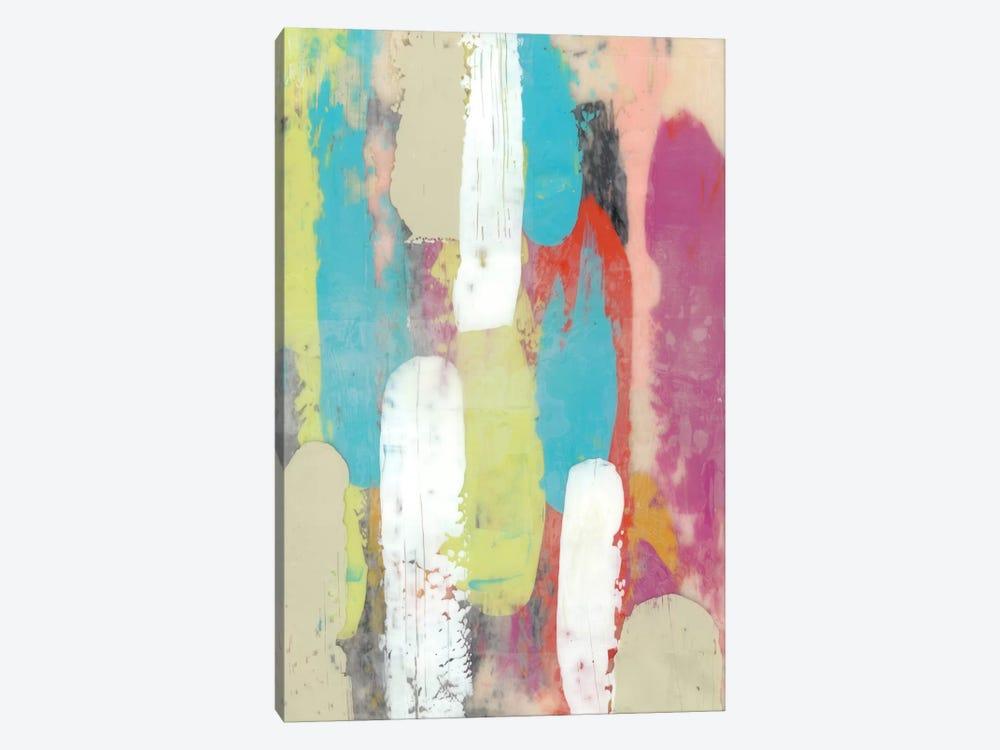 Swatch Layers I by Jennifer Goldberger 1-piece Canvas Print