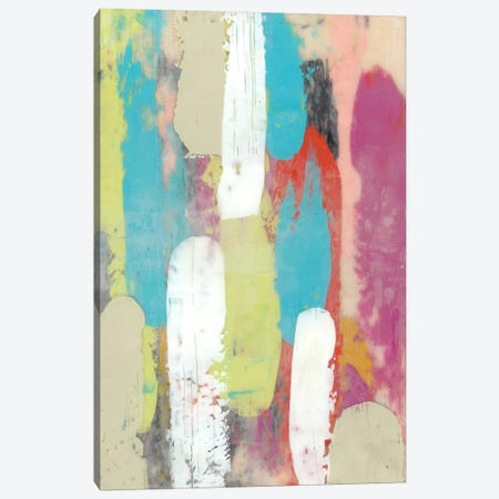 Swatch Layers I Canvas Print #JGO108} by Jennifer Goldberger Canvas Wall Art