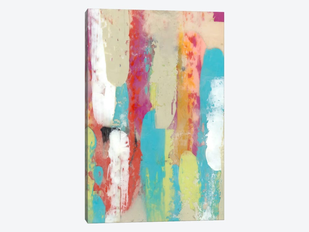 Swatch Layers II by Jennifer Goldberger 1-piece Canvas Wall Art